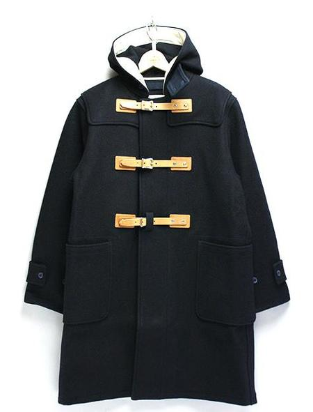 Mountain Research Navy Belted Duffle Coat