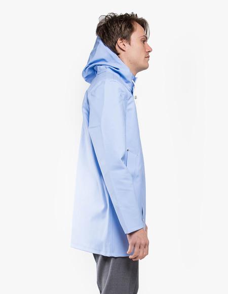 Stutterheim Stockholm Raincoat - Light Blue