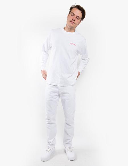 Strangers Romance Longsleeve Shirt - White