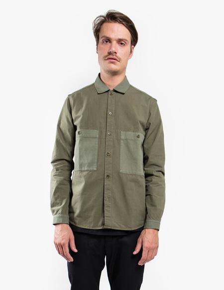YMC Doc Savage Shirt - Green
