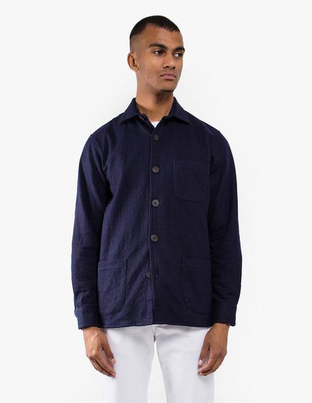 Schnayderman's One Overshirt - Dark Blue