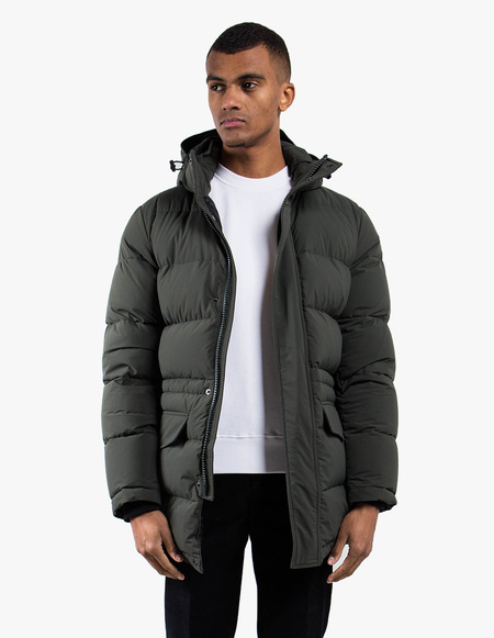 Aspesi 4I01 Polare Hooded Down Jacket