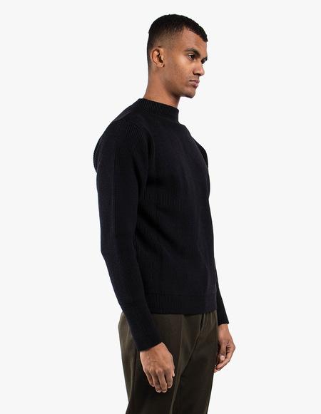 Andersen-Andersen Sailor Crewneck Sweater - Black