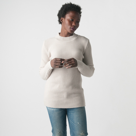 SNS Herning Fang Sweater in Natural