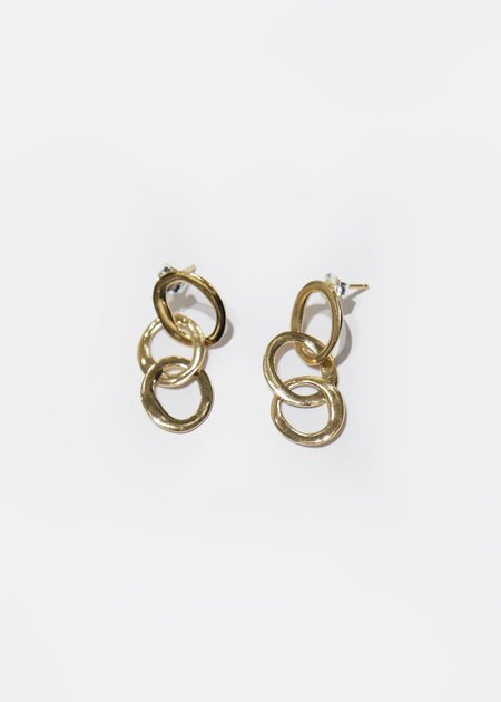 Wolf Circus Oval Chain Studs