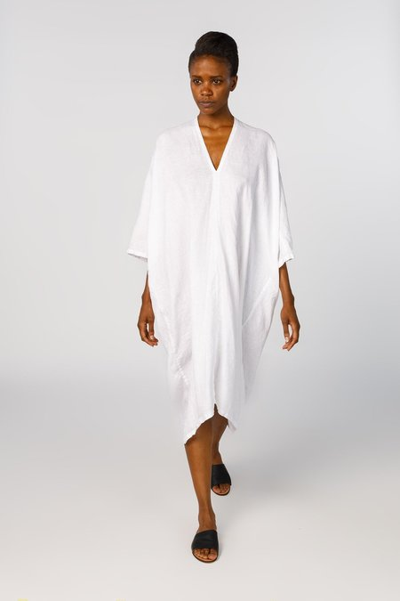 Miranda Bennett Ed. VIII Muse Dress - Linen in White