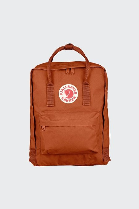 Unisex Fjallraven Kanken Backpack - Brick