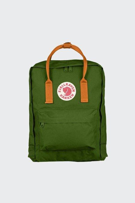 Fjallraven Kanken Backpack - leaf green/burnt orange