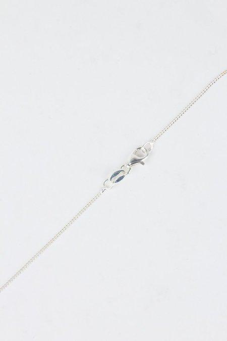 Meadowlark Lower Case Letter Necklace - Silver A