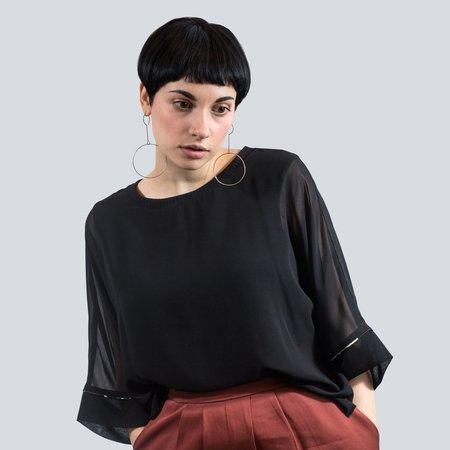 Melissa Nepton Zan Blouse - Black