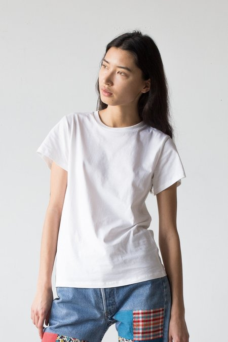Baserange Tee Shirt in Off White