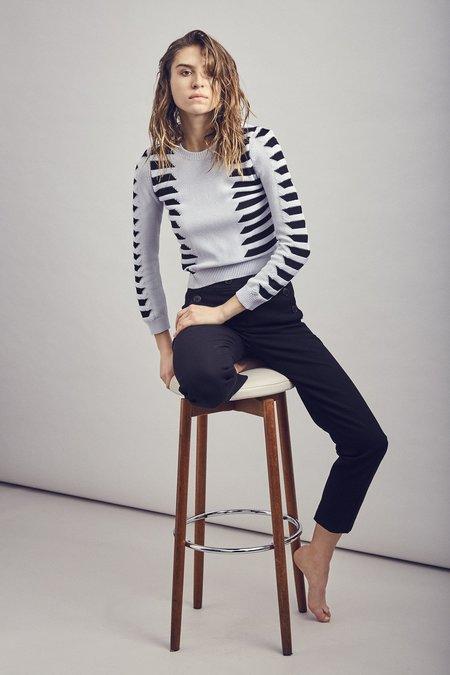 Mila Zovko Natalia Sweater - Gray/Black