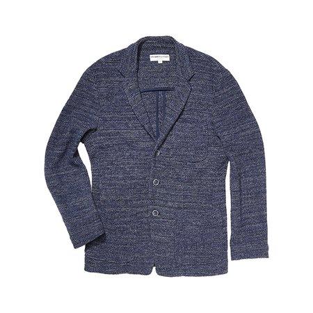 Krammer & Stoudt Luxe Melange Knit Blazer