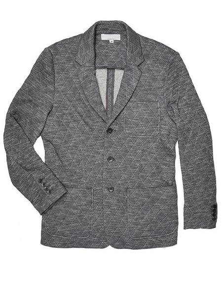 Krammer & Stoudt Luxe Quilted Knit Blazer