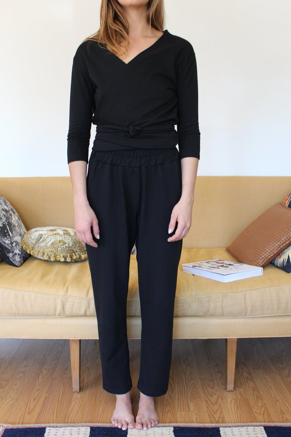 Beklina Kudu Sweatpants - Black