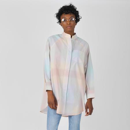 Kowtow Just Love Shirt - Pastel Check