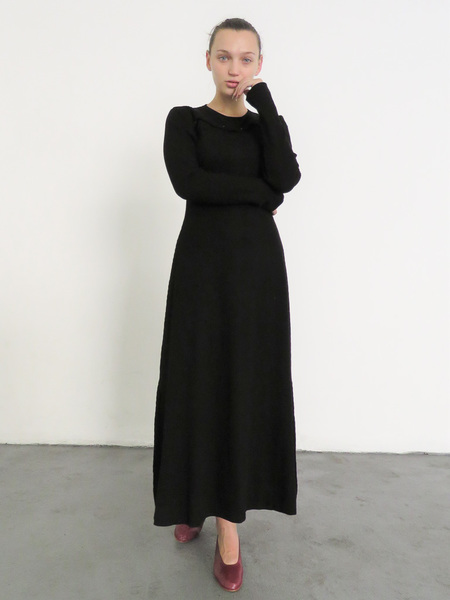 Delfina Balda Arco Knit Dress - Black