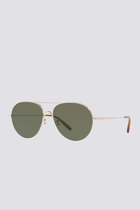 Oliver Peoples Rockmore - Antique Gold/Green Wash