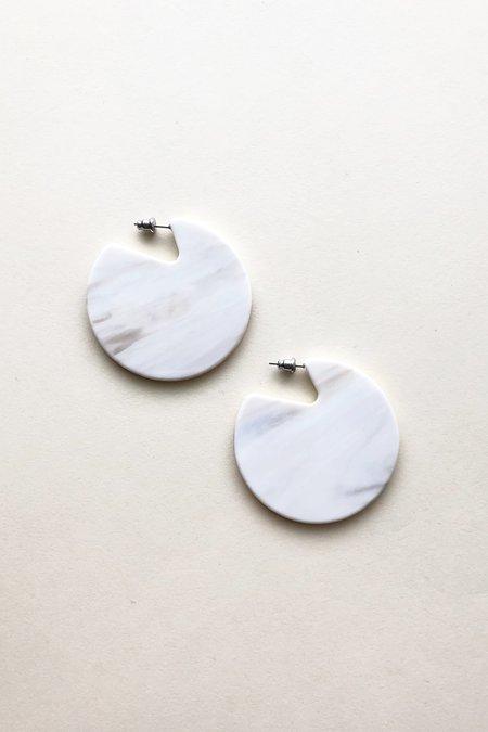 Machete Clare Earrings in Luna