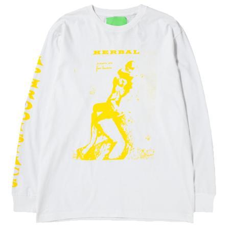 Mister Green Aphrodisiacs Long Sleeve T-Shirt - White