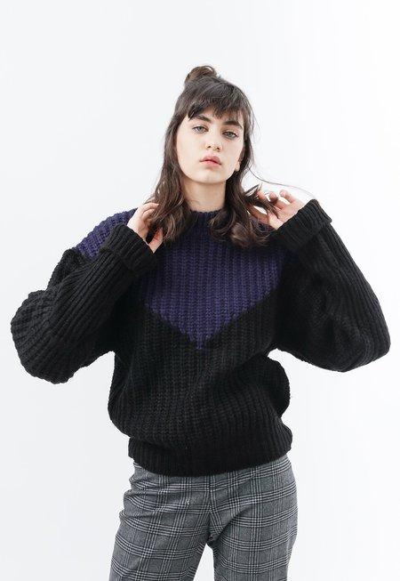 Among Colorblock Knit