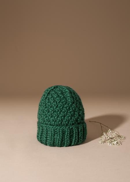 Tsuyumi 100% Highland Wool Toque - Green