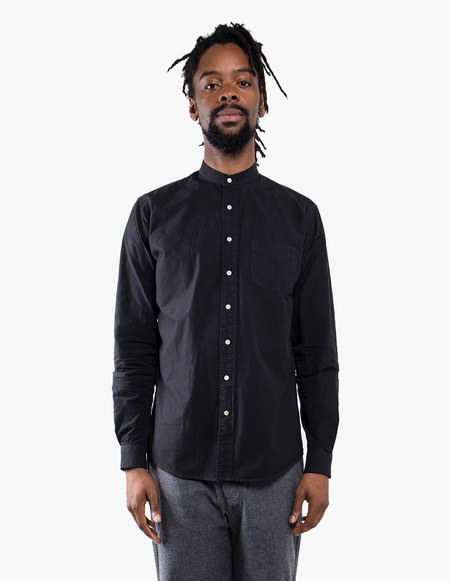 Schnayderman's Leisure Structure One Buttonstand SHIRT - Charcoal
