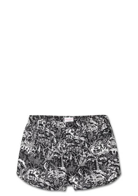 Derek Rose Woodland Modern Fit Silk Boxer Shorts