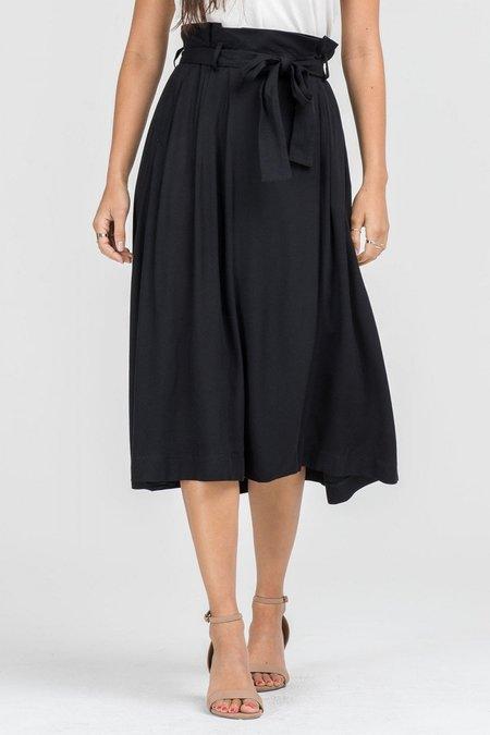 Lush Jean Tie Skirt
