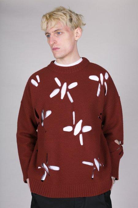 OAMC Laser Cut Felted Sweater