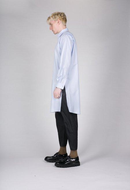Christian Dada Stripe Long Shirt - Blue
