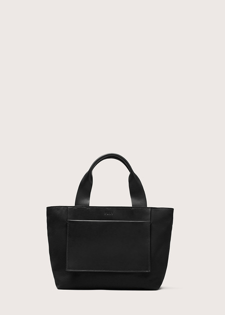 FEIT Small Tote - Black Canvas