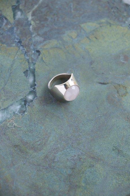 Quarry Shonn Ring - Rose Quartz