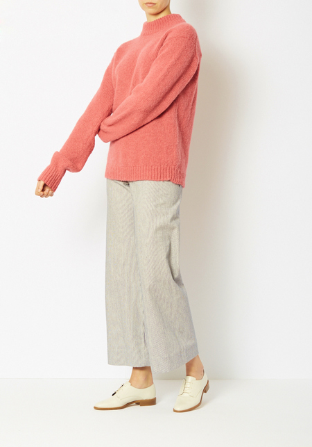 Tibi Pink Cozette Easy Pullover