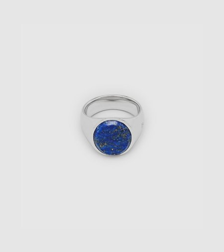 Tom Wood Oval Blue Lapis