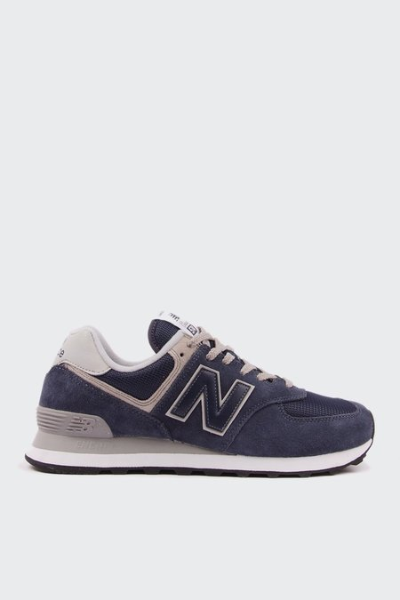 New Balance 574 Classic - navy/grey suede