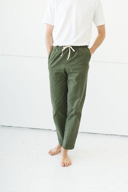 Unisex Ijji Drawstring Pants  - Olive