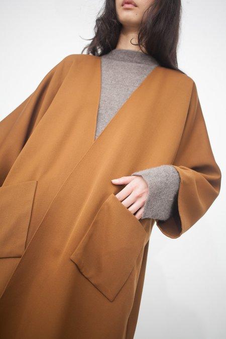 Rachel Craven Long Kimono Jacket in Bark