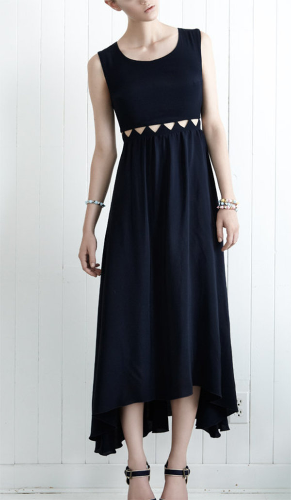 eve gravel kawana dress