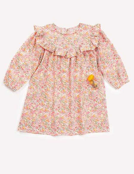 Petits Vilains Clothier Anouk Ruffle Dress - Floral