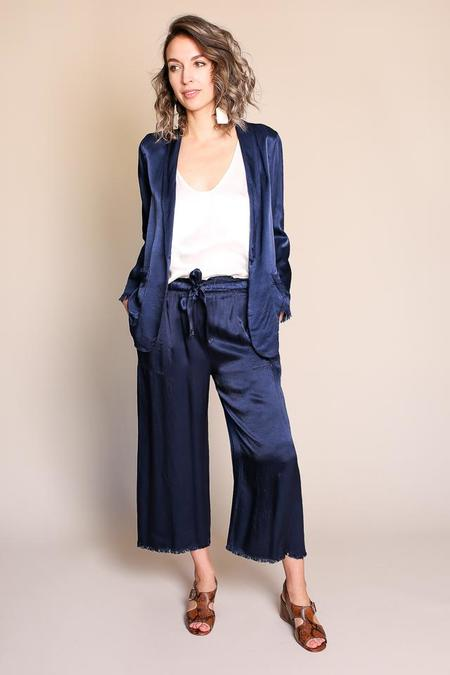 Raquel Allegra Shawl Blazer in Midnight