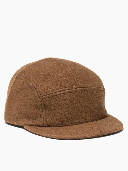 MAPLE Trail Cap - Brown Wool